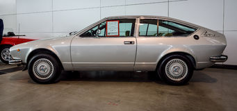 Tipo esecutivo 116, 1978 di Romeo Alfetta GTV 2000 dell'alfa dell'automobile Immagini Stock