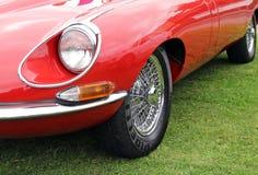 Tipo jaguar do vintage e Foto de Stock