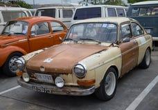 Tipo 3 manifestazione di Volkswagen del Fastback nella riunione del club fotografia stock