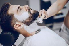 Tipo nei barbercos fotografie stock