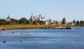 Tipo no monastério de Solovetsky foto de stock royalty free