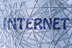 Tipo novo do negócio, o sonho do Internet Imagem de Stock