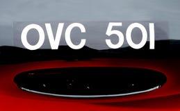 Tipo OVC 501 - 1954 di Jaguar D Fotografie Stock Libere da Diritti