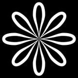Tipo preto e branco fundo do forro no formulário do sumário e da repetição ilustração do vetor
