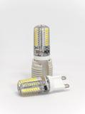 Tipo primo piano della lampadina G9 del LED Immagine Stock Libera da Diritti