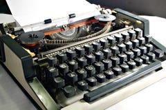 Tipo programa de escritura Imagen de archivo libre de regalías