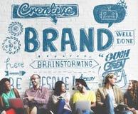 Tipo que marca o conceito do mercado da marca registrada de Copyright imagem de stock royalty free