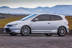 Tipo R del Honda Civic immagine stock