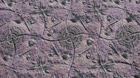 Tipo tono purpurino marítimo del pavimento fotografía de archivo libre de regalías