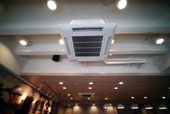 Tipo unidad del techo del acondicionador de aire de la ejecución Foto de archivo