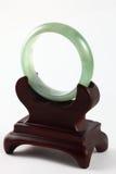 Tipo-UNo verde jade/pulsera de la jadeíta Imágenes de archivo libres de regalías