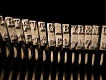 Tipografía Foto de archivo