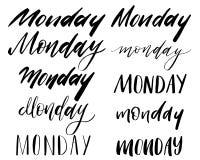 tipografía de las letras ilustración del vector