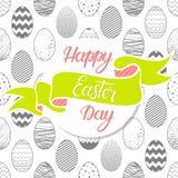 Tipografía de Pascua Imagen de archivo