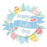 Tipografía de Pascua Fotos de archivo