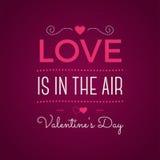Tipografía del día de San Valentín Capa de la foto del vector, texto inspirado label Cita de encargo en fondo rosado Mejor para stock de ilustración