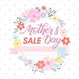 Tipografía feliz del día de madres Imágenes de archivo libres de regalías