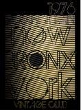 Tipografia de New York da faculdade; gráficos do t-shirt; vetores Fotos de Stock Royalty Free