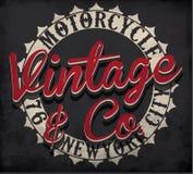 Tipografia del motociclo; grafici della maglietta; vettori illustrazione vettoriale