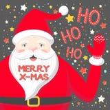Tipografia do Natal e do ano novo ilustração royalty free