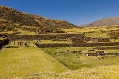 Tipon fördärvar Cuzco Peru Fotografering för Bildbyråer