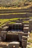 Tipon ruiniert Cuzco Peru Lizenzfreie Stockfotografie