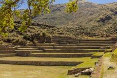 Tipon ruiniert Cuzco Peru Lizenzfreies Stockbild