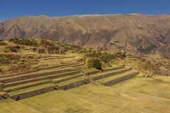 Tipon ruins Cuzco Peru. Tipon, Inca ruins at Cuzco Peru royalty free stock images
