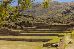 Tipon ruins Cuzco Peru. Tipon, Inca ruins at Cuzco Peru royalty free stock image