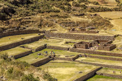 Tipon ruins Cuzco Peru Stock Photo