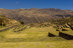 Tipon rujnuje Cuzco Peru Zdjęcia Royalty Free
