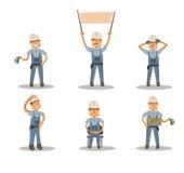 Tipos de construcción Imágenes de archivo libres de regalías