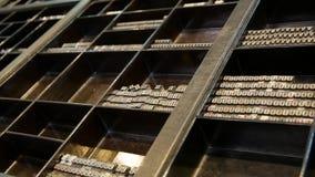 Tipos de la prensa de copiar del metal Tipos históricos de la prensa de copiar