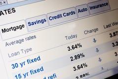 Tipos de préstamo hipotecario imagenes de archivo
