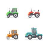 Tipos de tractores Foto de archivo libre de regalías