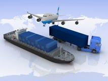 Tipos de transporte Imagen de archivo libre de regalías