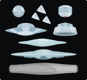 Tipos de UFOs Fotos de Stock