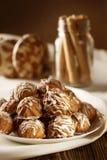 Tipos diferentes das cookies Fotografia de Stock