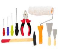 Tipos diferentes das ferramentas Imagem de Stock