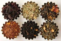 Tipos diferentes de chá Imagens de Stock Royalty Free