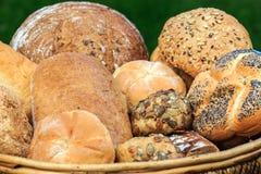 Tipos diferentes de pão Fotografia de Stock