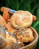 Tipos diferentes de pão Fotografia de Stock Royalty Free