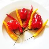 Tipos diferentes de pimenta Foto de Stock Royalty Free