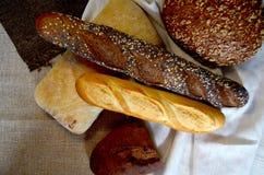 Tipos diferentes do pão Fotos de Stock