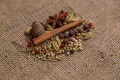 Tipos diferentes dos ingredientes Fotografia de Stock Royalty Free