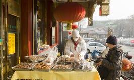 Tipos do alimento tradicional Fotografia de Stock
