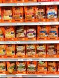 Tipos do arroz imagem de stock