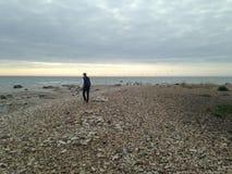 Tipp von Ristna-Strand Stockfotografie