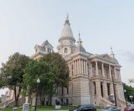 Tippecanoe okręgu administracyjnego gmach sądu, Lafayette, Indiana, w lecie zdjęcia royalty free