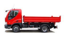 Tippende vrachtwagen Royalty-vrije Stock Foto's